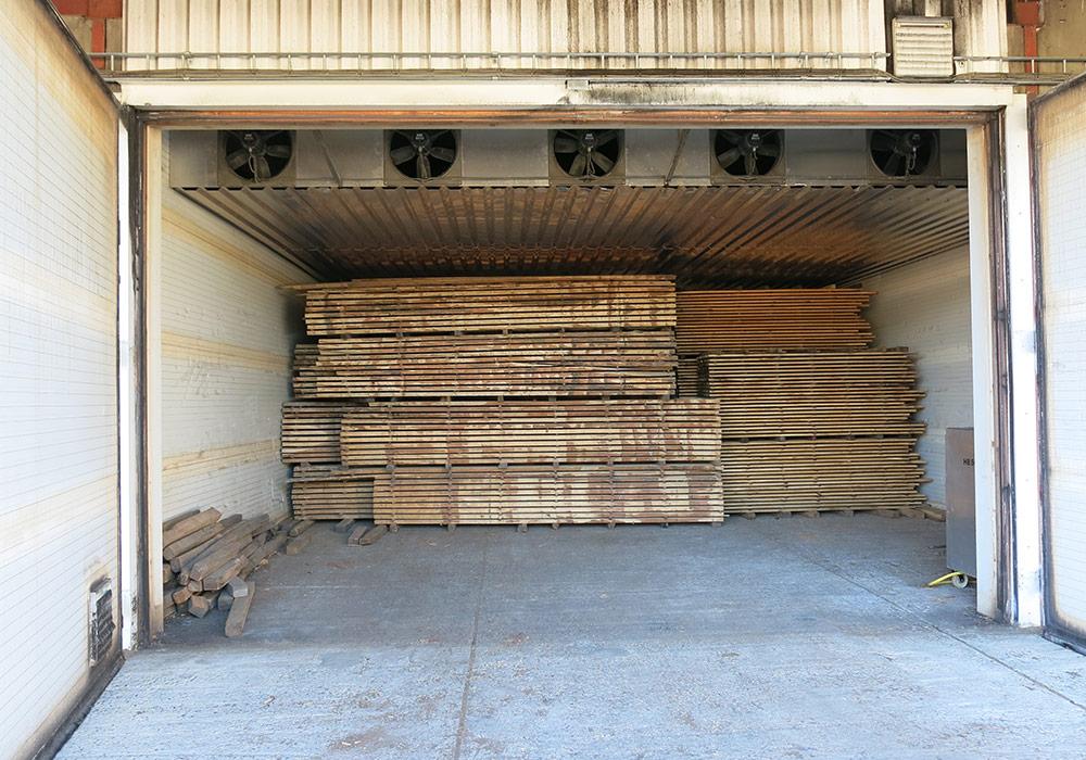 Droogkamers hout